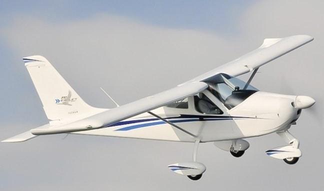 velivolo eaglet utilizzato per esperienze di volo
